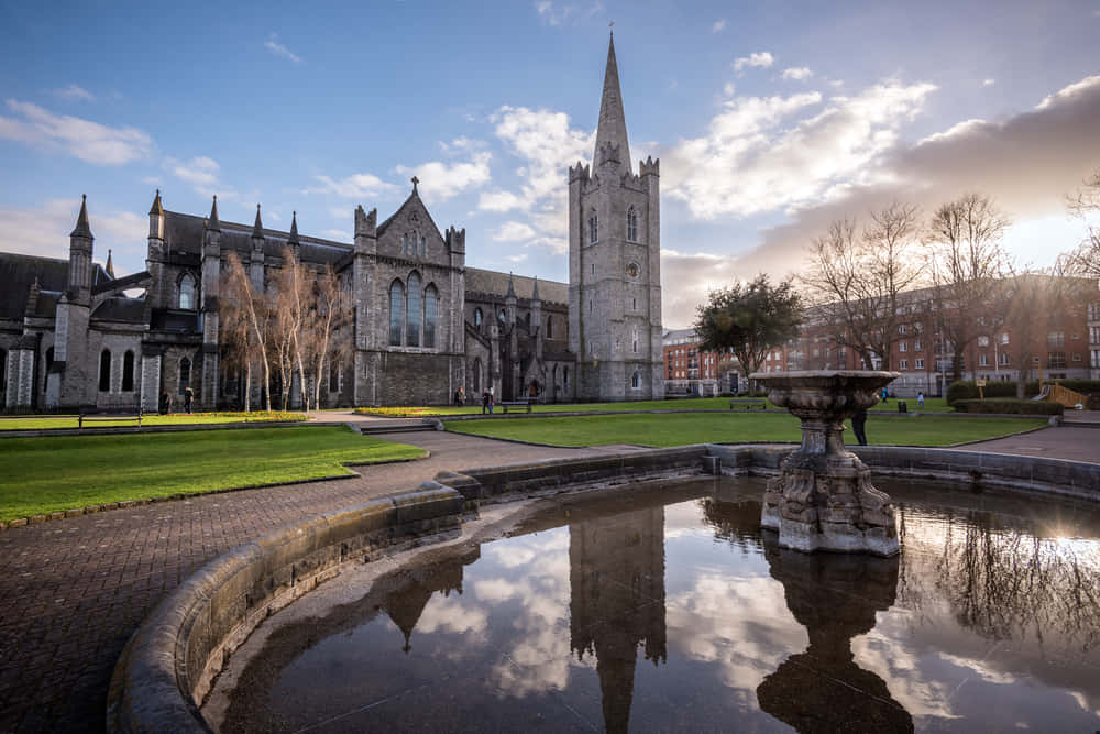 St Patrick's cathedral church, Ireland, Dublin.