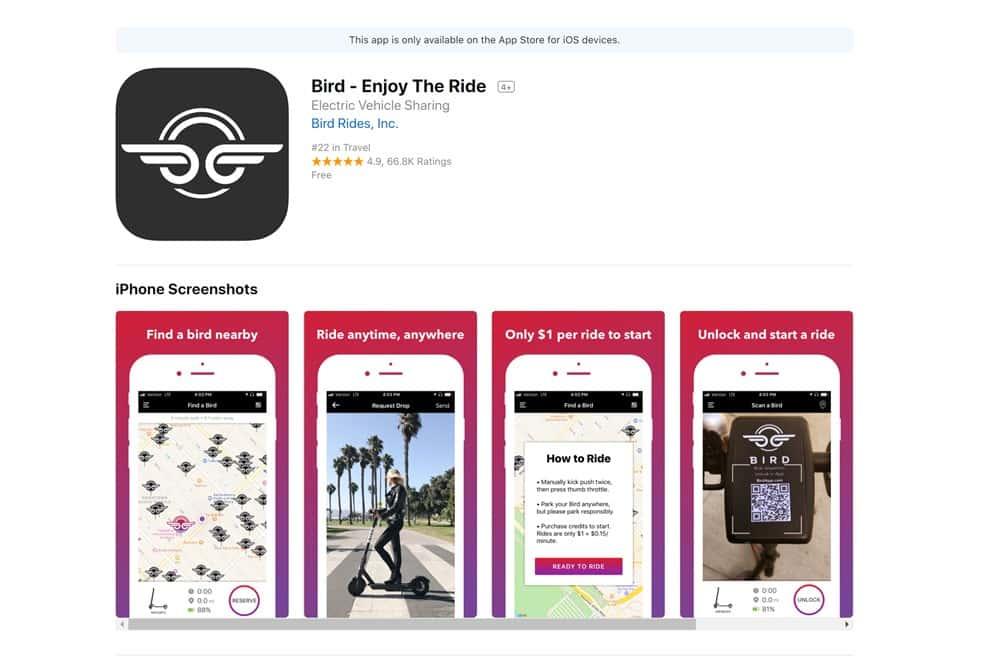 Bird アプリ