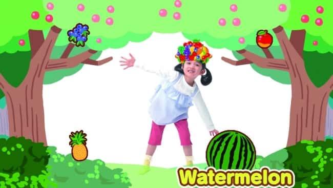 ワンダフルチャンネルの画面例